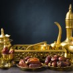 Ramadan food also known as kurma , Palm dates — Stock Photo #29169857