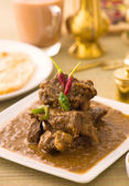 Mutton curry korma , indian food — Stock Photo