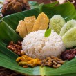 Traditional malay curry paste rice  — Stok fotoğraf