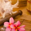 Balinese Spa setting. — Stock Photo