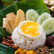 Stock Photo: Nasi lemak