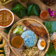 Traditional Malaysian food — Stock Photo
