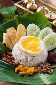 Nasi lemak — Stock Photo