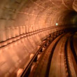 Stock Video: Motion of tunnel