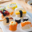 Fresh sushi traditional japanese food — Foto de Stock