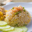 Pineapple fried rice , thai style — Stock Photo
