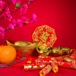 Chinese new year decorations — Stock Photo #36631415