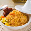 Biryani chicken rice — Stock Photo