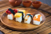 Sushi Assortment On a Dish — Stock Photo