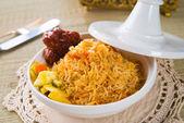 Biryani chicken rice — Stock Photo