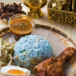 Nasi kerabu — Stock Photo #38914165