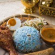 Nasi kerabu — Stock Photo #38914247