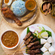 Nasi kerabu — Stock Photo #38914263