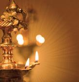 Hint yağı lambası — Stok fotoğraf