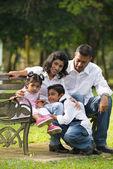 Hint aile — Stok fotoğraf