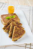 Martabak or murtabak — Stock Photo