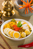 Curry noodles — Stockfoto