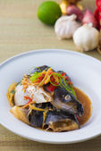 Steamed Fish — Stockfoto