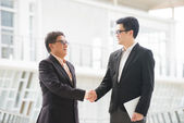 Aziatische business team — Stockfoto