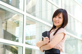 Young asian business woman — Stock Photo