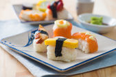 Various sushi food — Stock Photo