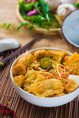 Singapore curry noodles — Stock Photo
