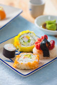 Various sushi food — Stockfoto