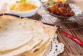Indian flat-bread — Foto de Stock