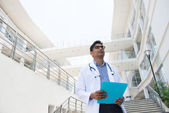 Indian male doctor — Foto Stock