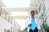 Indian male doctor — Foto de Stock