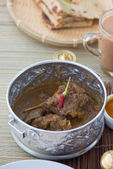 Mutton korma curry — Stock Photo