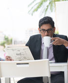 Indian business male — Stock Photo