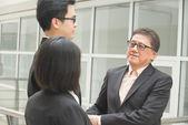 Singaporean business team — Stock Photo