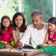 Happy indian family enjoying quality time — Stock Photo #47904349
