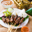 Beef satay — Stock Photo #47952991