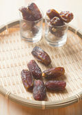 Date palm fruits or kurma — Stock Photo