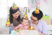 Festa de aniversário de bebê — Fotografia Stock