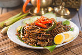 Indonesian fried noodles — Stock Photo
