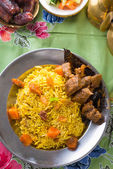 Arab rice, ramadan foods — Stock Photo