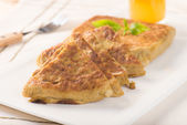 Arabic bread murtabak — Stock Photo