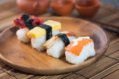 Japanese sushi. — Stock Photo