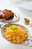 Chicken biryani — Stockfoto