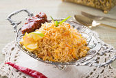 Chicken biryani — Stock fotografie