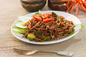 Fried noodle — Stock Photo