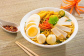 Curry noodle — Stock Photo