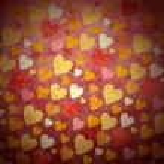 Grunge seamless pink hearts backround forlove, valentines and we — Stock Photo #12535622