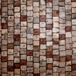 Photo of tile texture ground brown and grey — Stock Photo