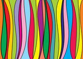 Linhas de direção colorido de pano de fundo abstrato — Vetorial Stock