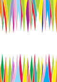 Abstract backdrop colorful direction lines — Stock Vector