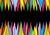 Linhas de direção de cor de pano de fundo abstrato — Vetorial Stock